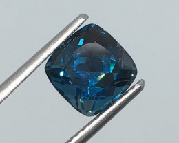 2.88 Carat VS Topaz London Blue Exquisite Precision Cut Quality !