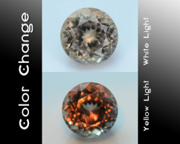 AAA Grade 3.82 ct Turkish Color Change Diaspore SKU.8