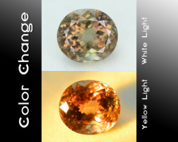 AAA Grade 5.62 ct Turkish Color Change Diaspore SKU.8