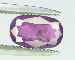 1.30 Cts Natural Kashmir Corundum Gemstones