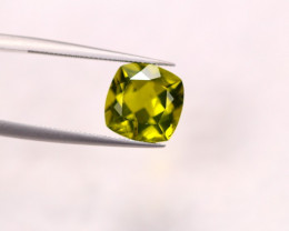 4.22ct Green Peridot Cushion Cut Lot GW2827