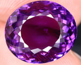 11.85 Crt Amethyst Top Quality Faceted Gemstone (R60)