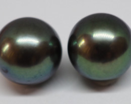 6.65CT PEARL PAIRS GREAT FOR EARINGS PL13
