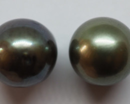 4.50CT PEARL PAIRS GREAT FOR EARINGS PL14