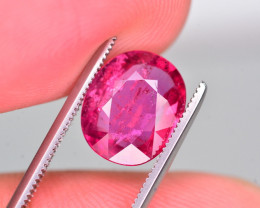 Marvelous Color 2.90 Ct Natural Rubelite Tourmaline