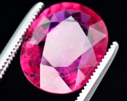 Amazing Color 8.75 Ct Natural Rubelite Tourmaline