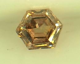 0.23ct Fancy Intense brownish Pink  Diamond , 100% Natural Untreated