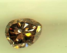 0.18ct  Fancy Intense Purple Pink Diamond , 100% Natural Untreated