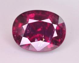Attractive Color 3.85 Ct Natural Rubelite Tourmaline