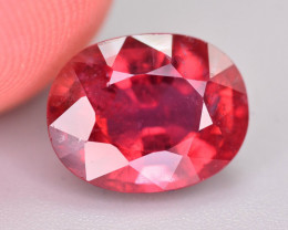 Top Color 2.65 Ct Natural Rubelite Tourmaline