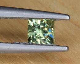 Natural Demantoid Garnet 0.34 Cts, Full Sparkle Faceted Gemstone