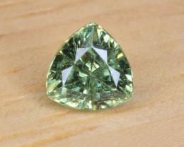 Natural Demantoid Garnet 0.46 Cts, Full Sparkle Faceted Gemstone