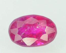 No Reserve - 0.80 Carats Natural Ruby Gemstones