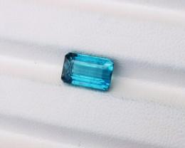 3.30 Ct Natural Blue Transparent Tourmaline Gemstone