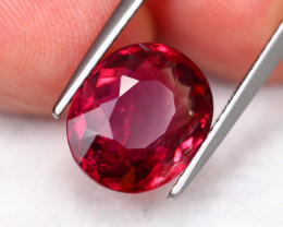 5.18Ct Natural Rubellite Tourmaline Oval Cut ~ B15/15