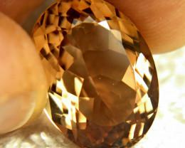 17.21 Carat Golden Brown VVS Brazil Topaz - Gorgeous