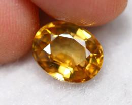 2.96cts Natural Golden Yellow Zircon