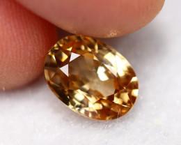 2.70cts Natural Golden Yellow Zircon