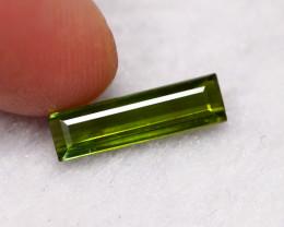 1.51cts Natural Green VVS Tourmaline