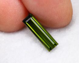 1.06cts Natural Green VVS Tourmaline