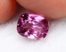 1.12cts Natural Pink Cushion Cut Spinel