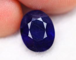 4.96cts Blue Colour Oval Sapphire