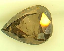 1.16ct Brown Gray Diamond , 100% Natural Untreated