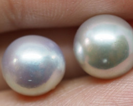 9.30CT PEARL PAIRS GREAT FOR EARINGS PL18