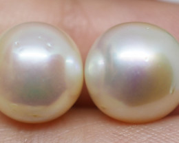 11.45CT PEARL PAIRS GREAT FOR EARINGS PL25