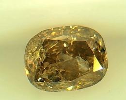 0.37ct Brown  Diamond , 100% Natural Untreated