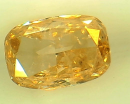 0.43ct Fancy brownish Yellow  Diamond , 100% Natural Untreated