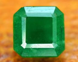 1.05 Carats Top Quality Deep Green Color Natural Rare Swat Emerald Gemstone