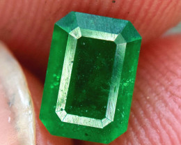 0.60 Carats Natural Swat deep color Emerald gemstone From Pakistan