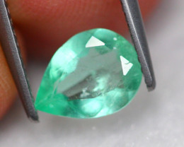 0.86Ct Natural Neon Green Colombian Muzo Emerald ~ FA19/4