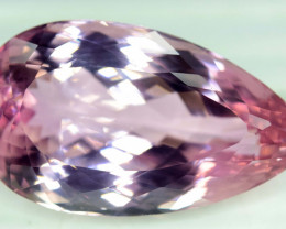 92.55 Carats Top Quality Pink Color Kunzite Gemstone