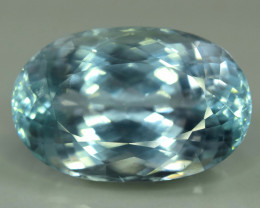 41.80 Carats Top Quality Aqua Color Spodumene Gemstone