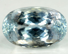 38.75 Carats  Top Quality Aqua Color Spodumene Gemstone