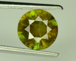 Color change 1.35 ct Chrome Sphene from Himalayan Range