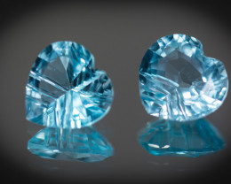 10 mm BlueTopaz  7.48 ct Brazil