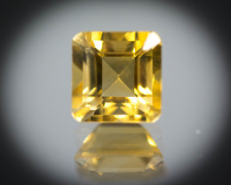 Orange Citrine 1.69 ct Brazil GPC Lab