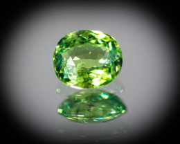 Green  Garnet Demantoid 1.06 ct GPC Lab