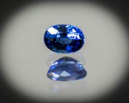 6 x 4 mm Blue Sapphire 1.08 ct  Sri Lanka