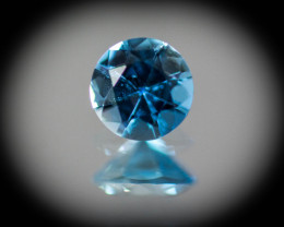 Blue Aquamarine 0.40 ct Brazil GPC Lab