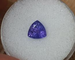 2,75ct Tanzanite - Great colour!