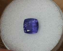 3,68ct Tanzanite - Great colour!