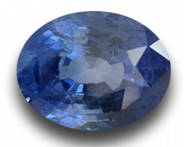 GIA Certified Natural Unheated Blue sapphire New Srilanka
