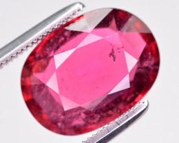 Attractive Color 4.60 ct Natural Rubelite Tourmaline