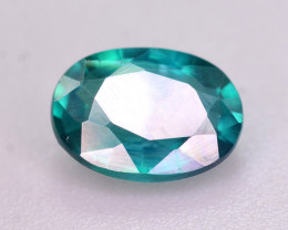1.15 Ct Gorgeous Color Natural Green Topaz. RA