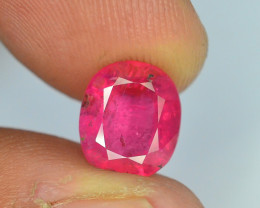 Top Color 3.35 ct Rubelite Tourmaline