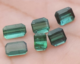 5 carats Blue color Tourmaline Gemstone for jewelry
